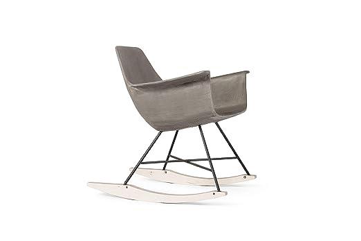 Lyon hormigón Piel Eville - Rocking Chair DL de 09190 de pl ...