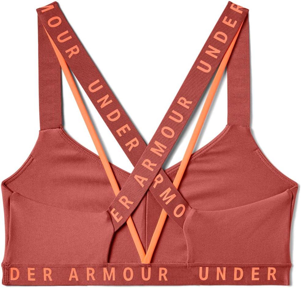 Femme Soutien-Gorge Under Armour Wordmark Strappy Sportlette