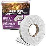 Stormguard - Nastro sigillante in gommaschiuma per fessure molto grandi, Bianco, 19x11x3050 mm