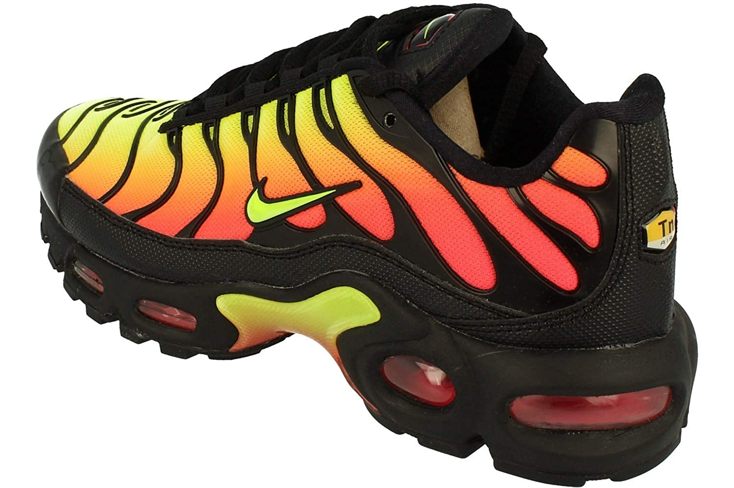 Original Womens NIKE Air Max Plus Tuned 1 TN SE Black Trainers AQ9979 001
