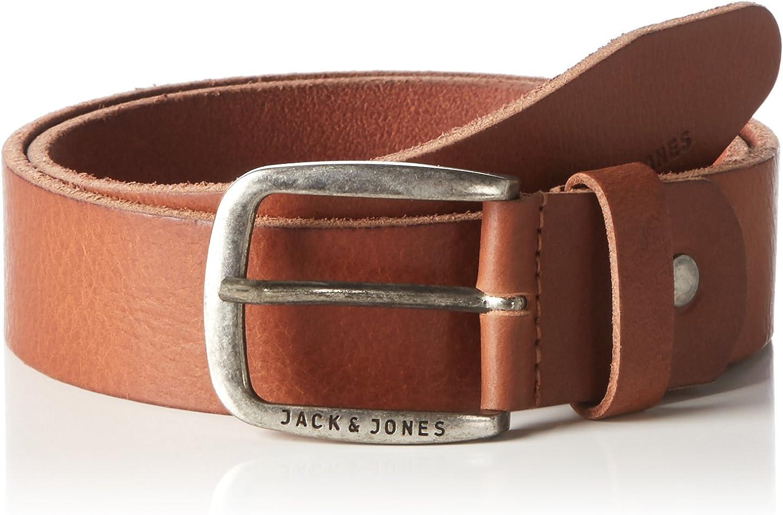 JACK /& JONES Jjipaul Jjleather Belt Noos Cintura Uomo