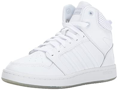 adidas basketball shoes womens. adidas neo women\u0027s cf superhoops mid w basketball-shoes, white/white/matte basketball shoes womens