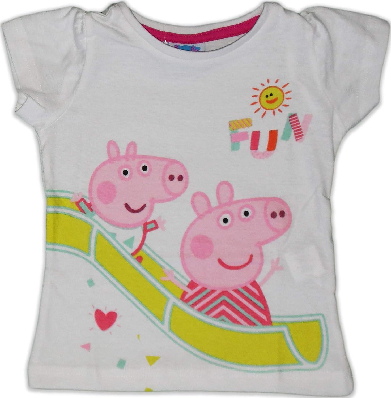 Peppa Pig Pigiama corto in cotone per bambini