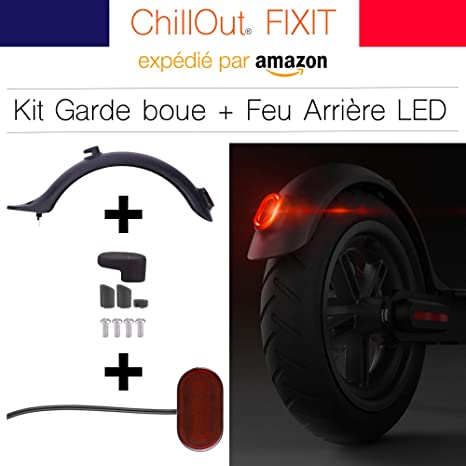 ChillOut® - Guardabarros xiaomi m365 y luz Trasera para ...