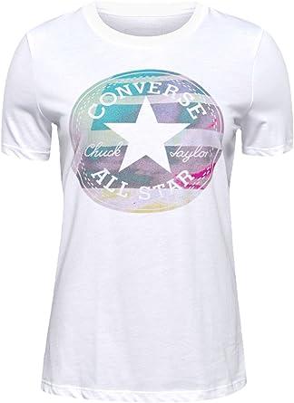 tee shirt converse blanc femme