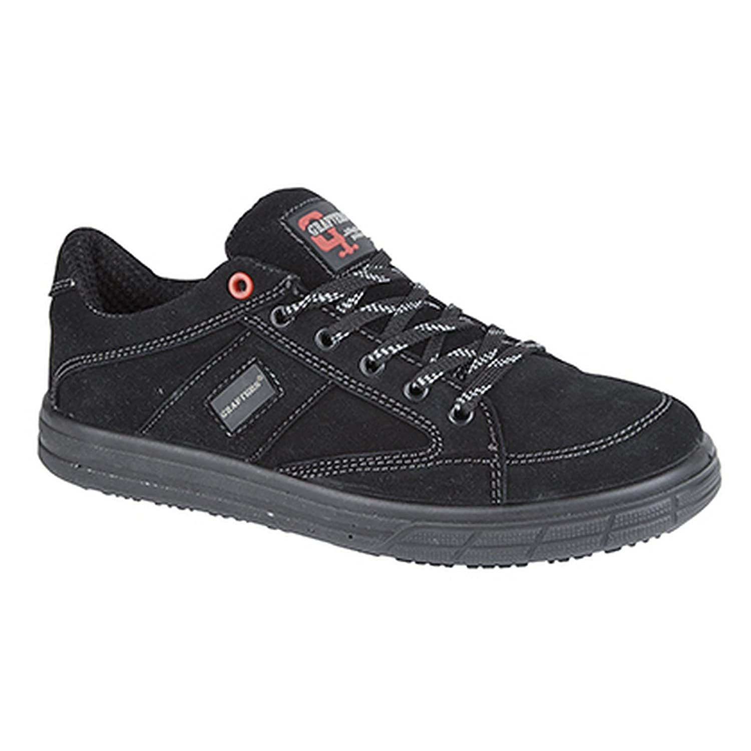 Grafters Mens Skate Type Toe Cap Safety Trainers  RMLXLOCQ0