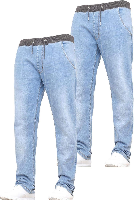 New Boys Kids Pull-On Jogger Elasticated Waist Jeans Pants