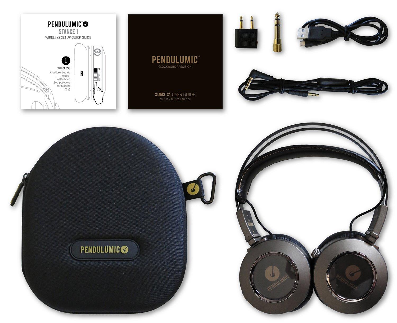 Pendulumic Stance S1 - Auriculares de diadema abiertos inalámbricos, marrón: Amazon.es: Electrónica