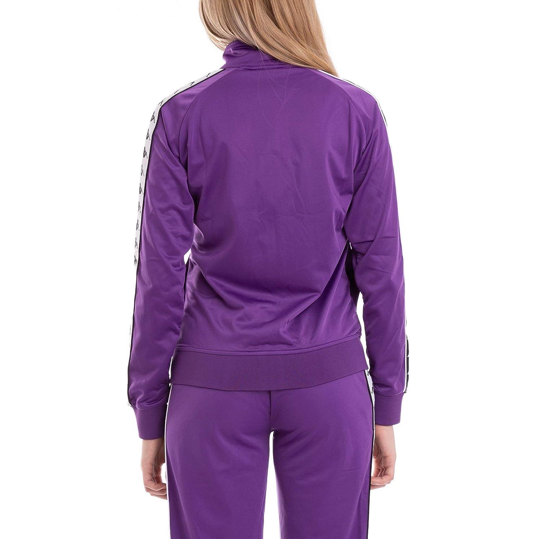 56d9782c Amazon.com: Kappa Womens 222 Banda Wanniston Slim Jacket - Violet ...