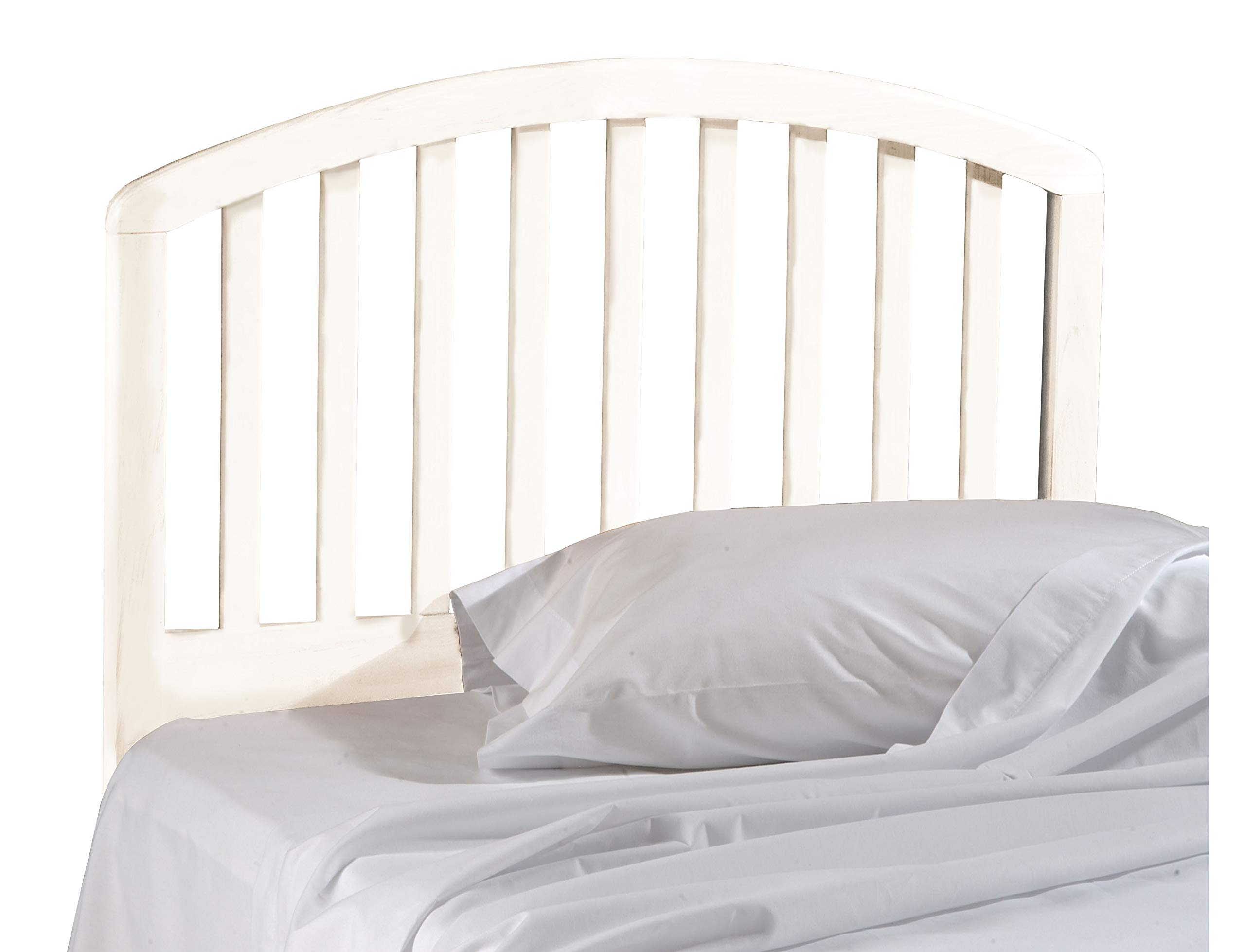 Hillsdale Carolina Headboard, Bed Frame Not Included, Full/Queen, White
