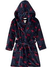 Hatley Fuzzy Fleece Robe Bata para Niños