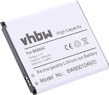 Batería 2600mAh (3.8V) para Smartphone, teléfono, Celular Samsung ...
