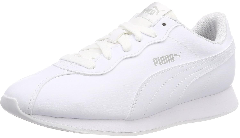 Puma Turin II, Zapatillas Unisex Adulto 38 EU|Blanco (Puma White-puma White 03)