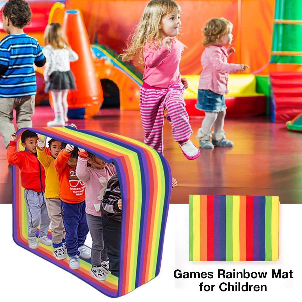 Feileng Outdoor Play Kids Group Learning Activity Fun Playing Run Mat, Training Games Rainbow Mat for Children Noble by Feileng (Image #1)