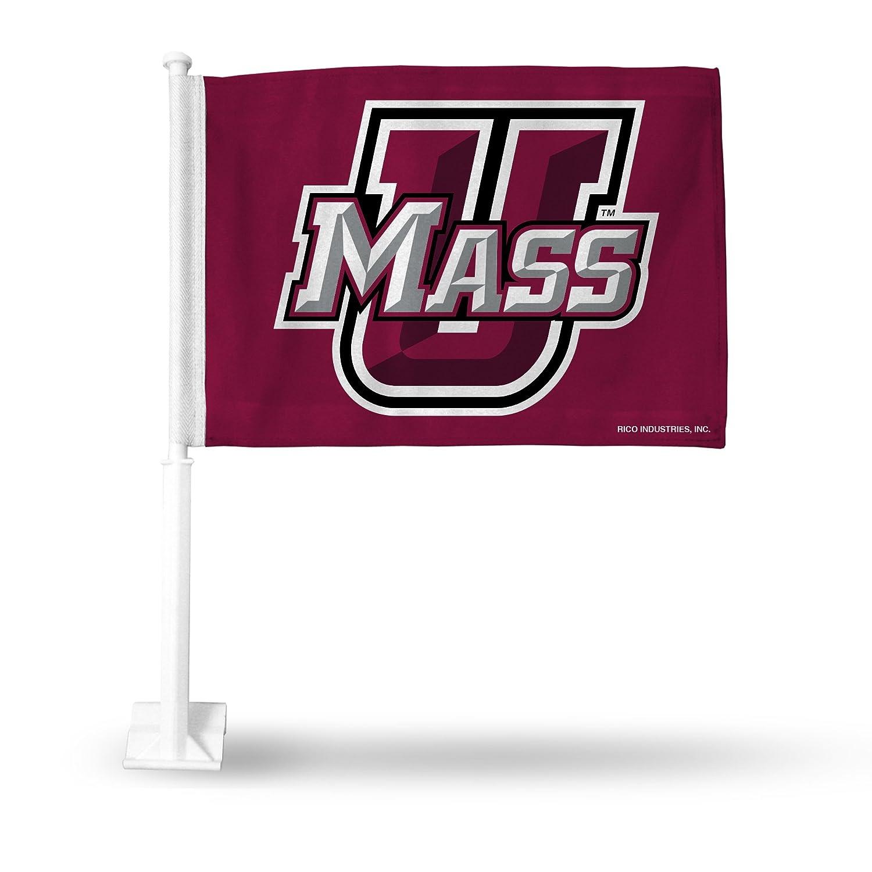 Rico NCAA UMass UMass Car Flag Sports Fan Automotive Flags, Multicolor, One Size FG140403