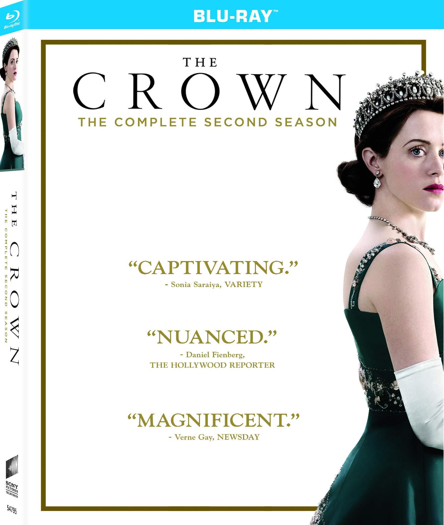 Blu-ray : The Crown: Season Two (Boxed Set)