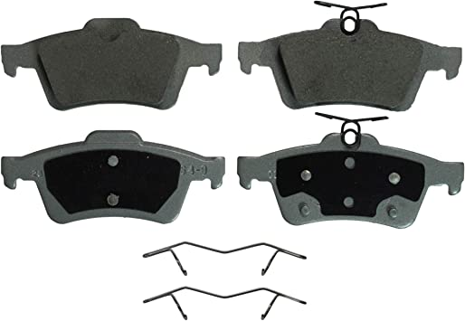 Disc Brake Pad Set-ThermoQuiet Disc Brake Pad Front Wagner QC1653
