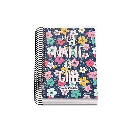 Agenda Escolar Nexus (D/P) - Dohe - A6 - Girl: Amazon.es ...