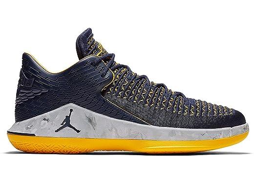 0942f417c25 Nike Air Jordan XXXII 32 Low Michigan Wolverines Basketball Shoes AA156-405  (11.5): Amazon.co.uk: Clothing