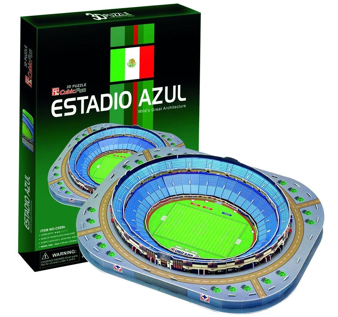 新着商品 キュービックファンAzul B001UCDPKY Stadium Stadium Mexico Mexico Cityメキシコ3dパズル B001UCDPKY, 本吉町:e0471143 --- quiltersinfo.yarnslave.com