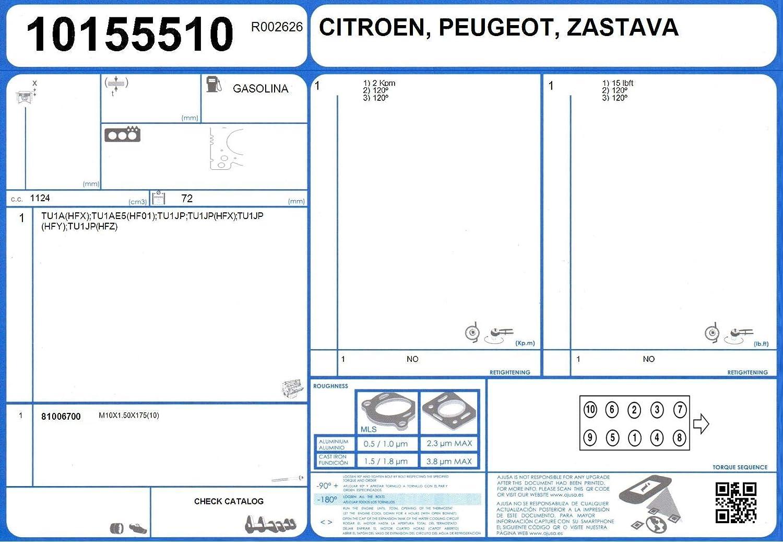 AJUSA 10155510 Joint d/étanch/éit/é culasse