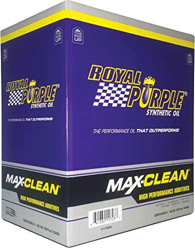 Royal Purple 11723-6PK Limpiador y estabilizador de sistema de combustible Max-Clean