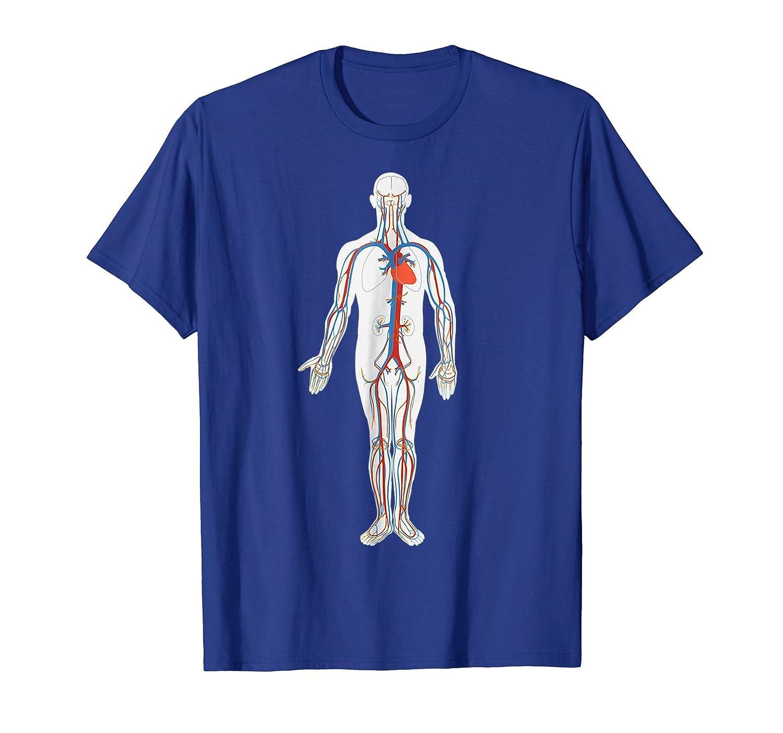 Amazon.com: Human Body Anatomy T-Shirt: Clothing