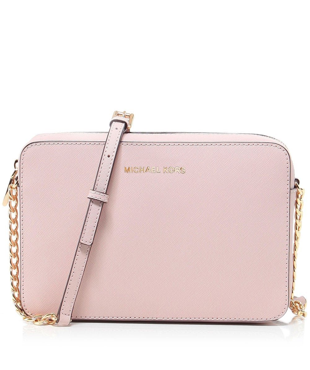 MICHAEL Michael Kors Women's Large East / West Cross Body Bag, Soft Pink, One Size