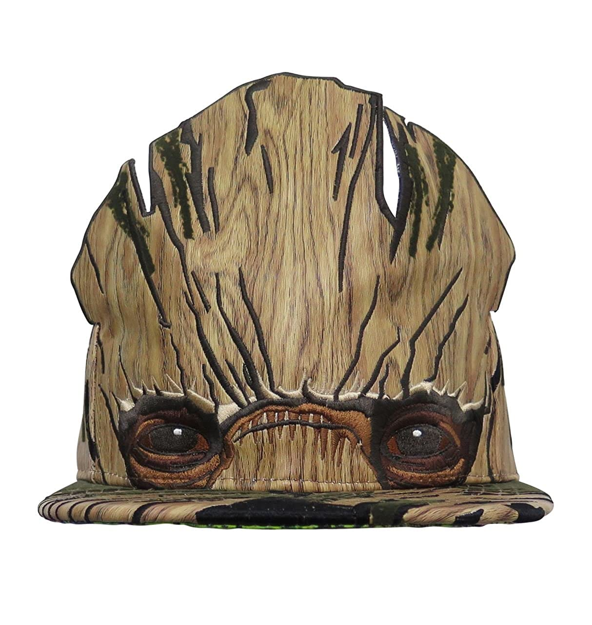 buy online 920e7 0dc2a New Era GOTG Groot Armor 9Fifty Adjustable Hat at Amazon Men s Clothing  store