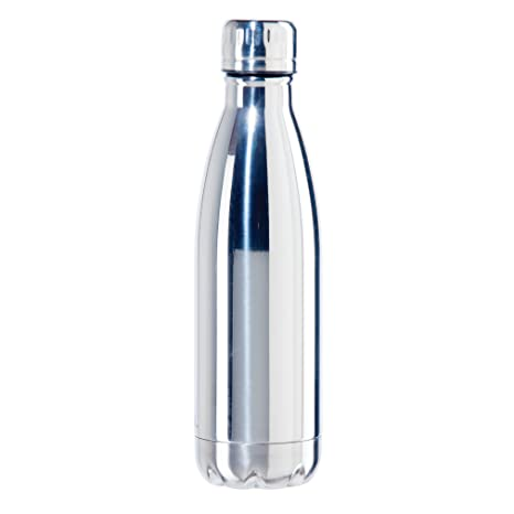0. Oggi 8086.8 Stainless Steel Calypso Double Wall Sports Bottle with Screw Top