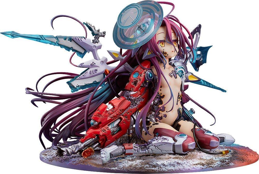 Collect Anime No Game No Life Zero Schwi Shiro 1//7 Scale PVC Figure IN BOX