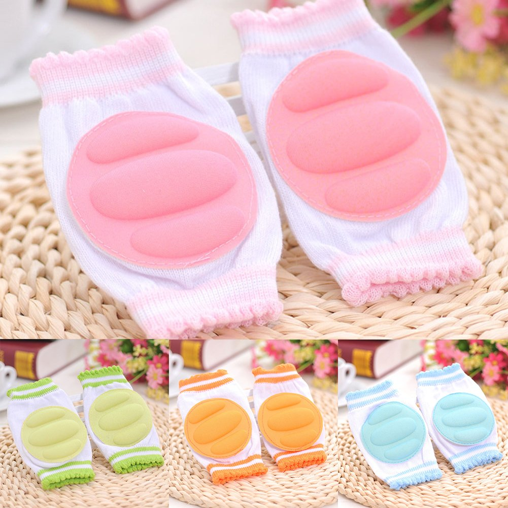Tangbasi/® Toddler Baby Knee Pads Crawling Safety Protector Knee Protection Kneecaps Coverage