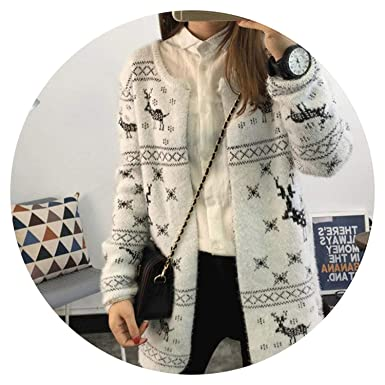 fa68186cf6ddb Image Unavailable. Image not available for. Color  Qounfhy Winter Cardigan Women  Sweater ...