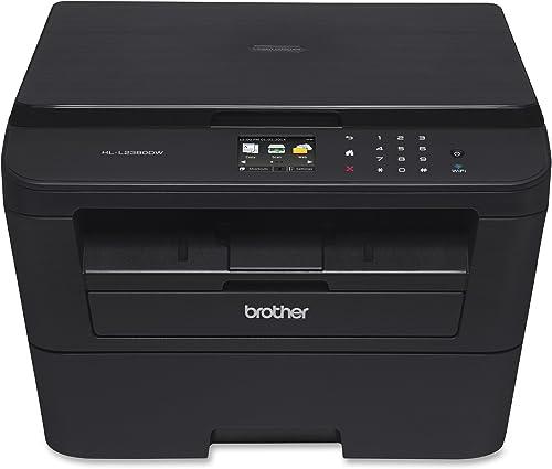 Brother HL-L2380DW Wireless Monochrome Laser Printer, Amazon Dash Replenishment Ready