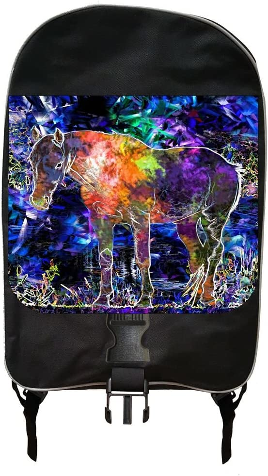 Abstract Horse Art Backpack