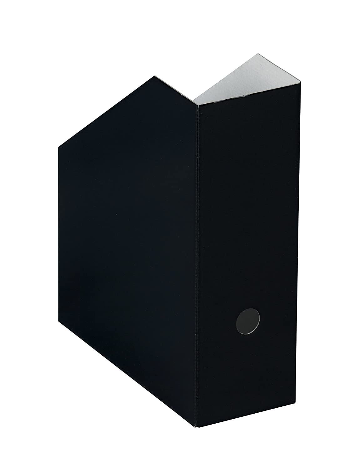 Nips - Revisteros verticales (5 unidades, anchura extra, 10,5 x 26,5 x 31,5 cm), color negro: Amazon.es: Oficina y papelería