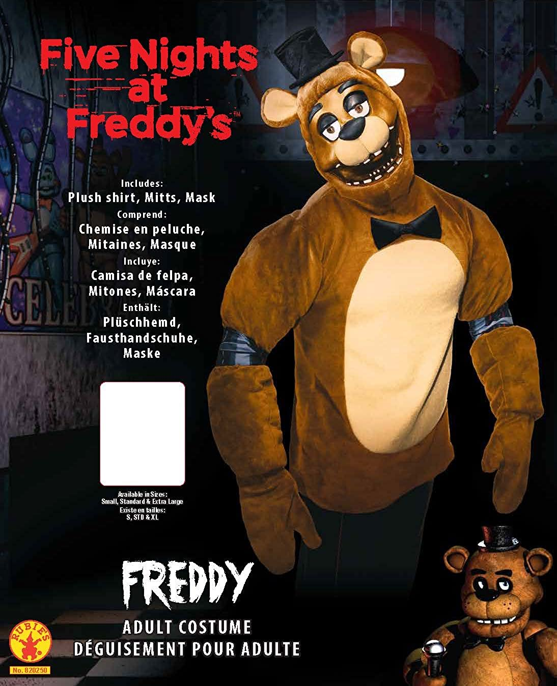 Mens Five Nights Freddy: Clothing