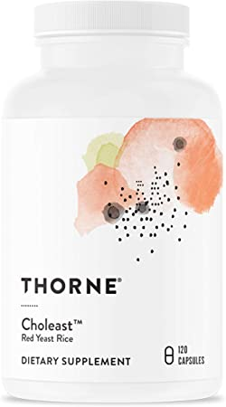 Thorne Research - Choleast - Red Rice Yeast Extract with CoQ10 - 120 Capsules