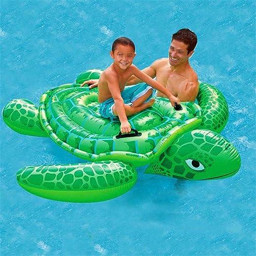 Juguete de piscina inflable Tortugas marinas Diversión for montar ...