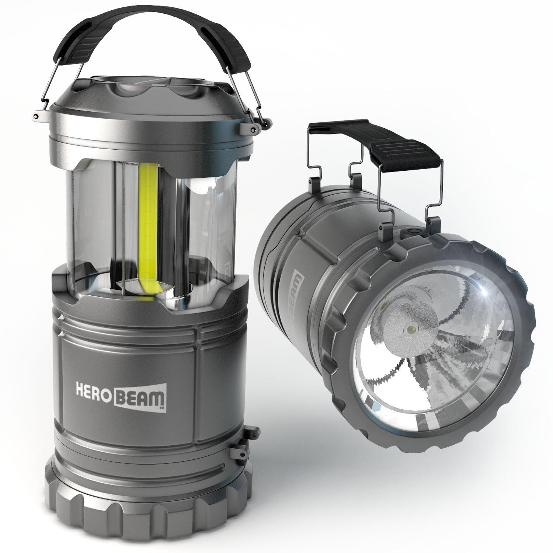 HeroBeam Collapsible LED Camping Lantern with Flashlight