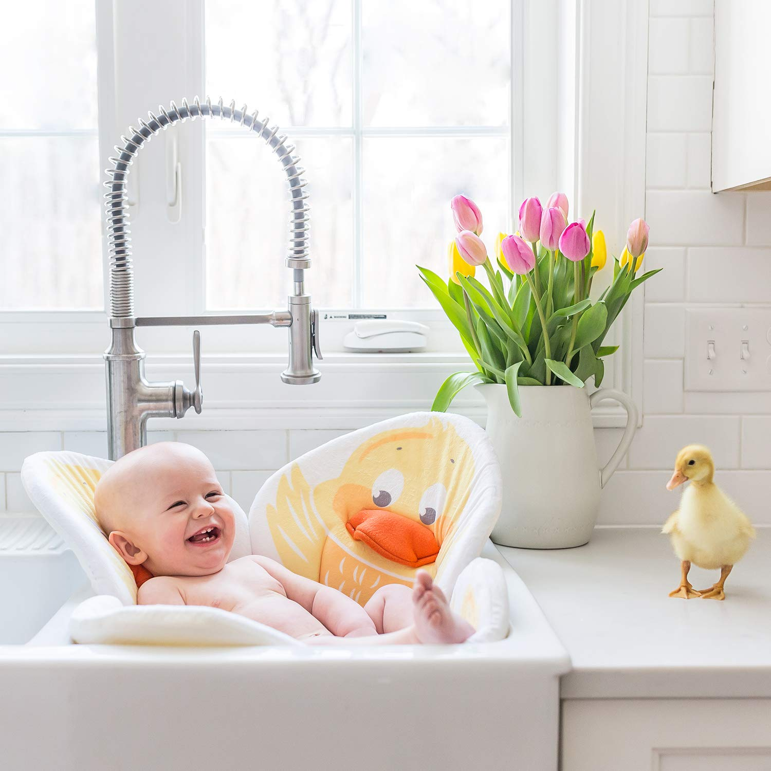 Pond Pals Baby Bath (Duckling) by Blooming Bath