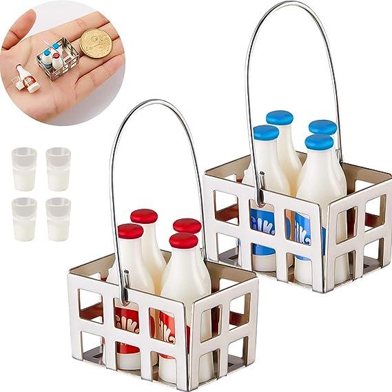 1:12 Miniature Dollhouse Food Milk Diy Home Mini Decoration Supply MTNJ