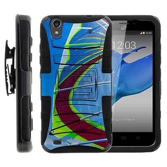 buy popular bf3a1 8154c Amazon.com: Compatible for ZTE Quartz Case | Z797C [Hyper Shock ...