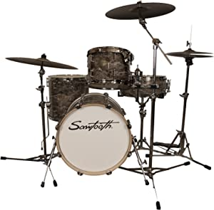 Sawtooth Command Series 4-Piece Drum Set