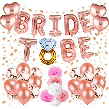 Hen Party DecorationBachelorette Classy Team Bride Party Supplies with Bride to Be Foil Balloons  sc 1 st  Amazon Canada & Hen Party Decoration Bachelorette Classy Team Bride Party Supplies ...
