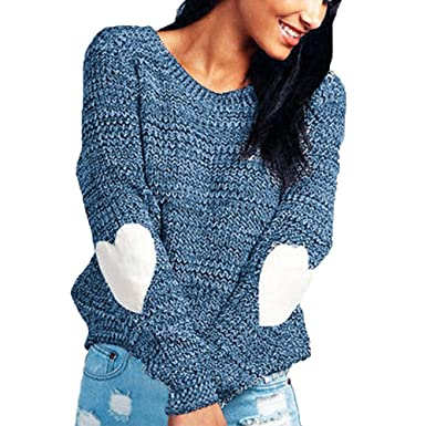 ab61b7a12b7 Image Unavailable. Image not available for. Colour: Fuyingda Womens Fashion  Knitwear Sweatshirt ...