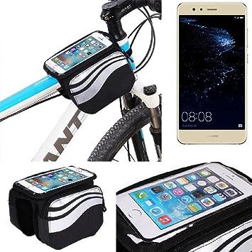 K-S-Trade Bolso Bolsa Funda Bicicleta para Huawei P10 Lite Dual ...