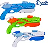 Zcaukya Super Water Guns for Kids, 3 Pack Soaker Blaster Pump for Kids Adults, Squirt Guns Swimming Pool Toys Outdoor…