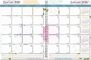 product image for House of Doolittle 2020 Calendar Planner, Monthly, Whimsical Floral, 8.5 x 11 Inches, January - December (HOD29197-20)