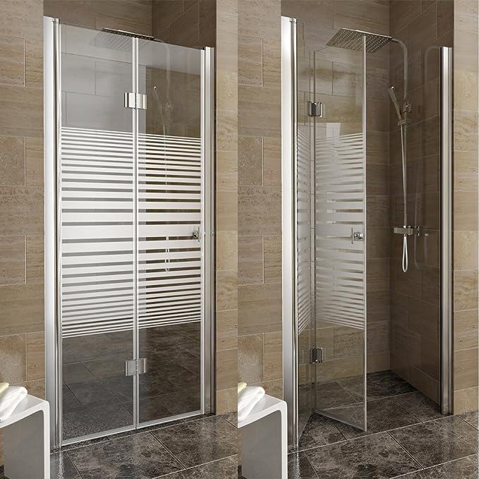 Mampara de ducha mampara de separación plegables mampara de ducha cabina de ducha 100 izquierda tira: Amazon.es: Bricolaje y herramientas
